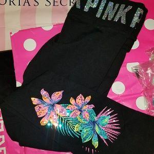 Vs pink bling leggings